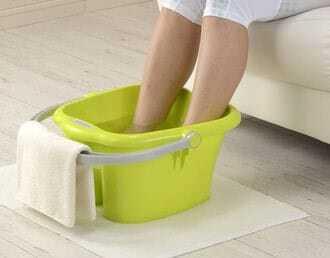 Magnesiumvlokken voor ontspannen voet en ligbaden