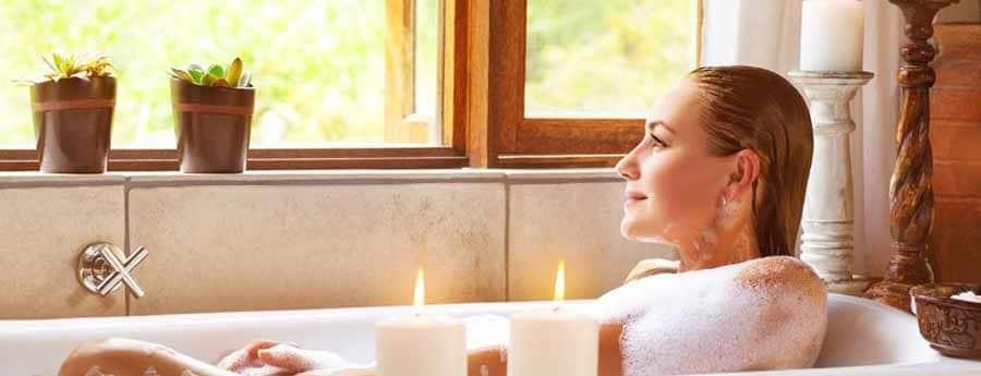Magnesiumvlokken gebruiken in een ligbad bij stress en burn-out