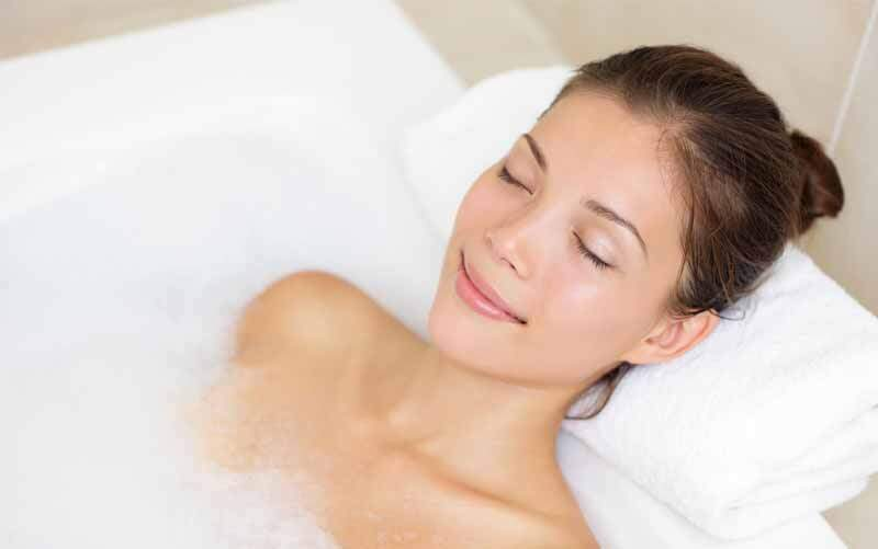 magnesiumvlokken ligbad