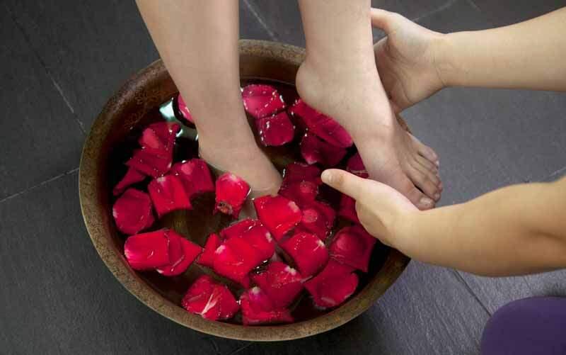 magnesiumvlokken voetenbad