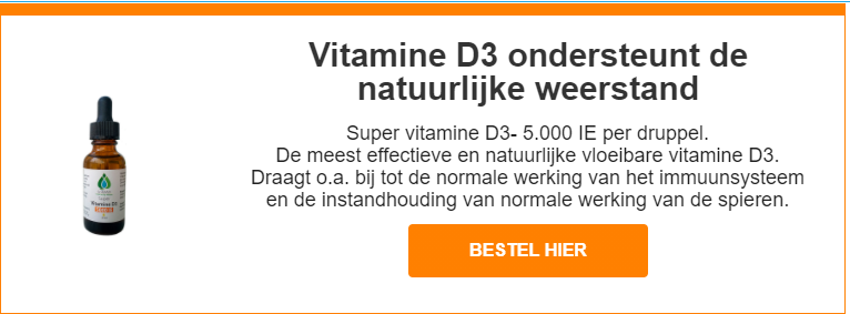 Vitamine D3 Boost immuunsysteem